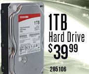 1TB Internal Hard Drive $39.99