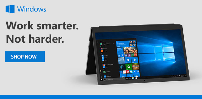 Windows - Work smarter. Not harder. SHOP NOW