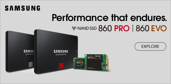 Samsung SSDs. Performance that endures - Explore
