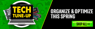 TECH Tune Up - Organize & Optimize this Spring - SHOP ALL