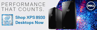 Performance that counts Intel Core i7 8th Gen Shop XPS 8930 Desktops Now