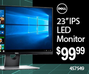 Dell 23 inch IPS LED Monitor