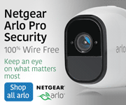 Netgear Arlo Pro Security; 100% Wire Free; Keep an eye on what matters most; SHOP ALL ARLO