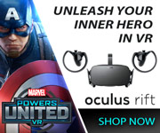 Oculus Rift - Unleash Your Inner Hero in VR - SHOP NOW
