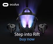 Oculus. Step into the rift