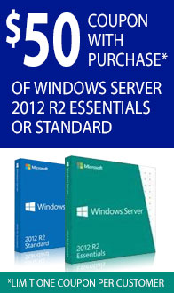Microsoft Server 2012 R2 Essentials & Server 2012 Standard