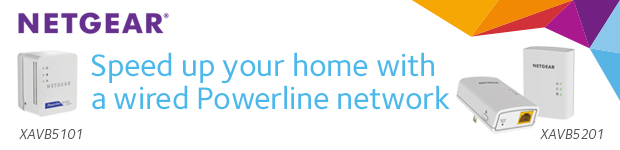 NETGEAR. Speed Up Your Home with a Wired Powerline Network