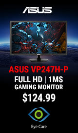 "ASUS VP247H-P 24"" Full-HD LED Monitor"