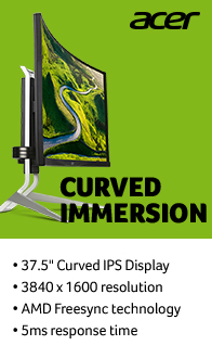 Acer. Curved Immersion