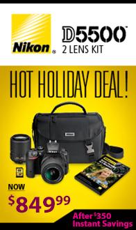 Nikon D5500 DSLR Kit