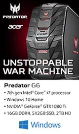 Acer Predator G6-710-i77Kdcf80Ti Gaming Computer