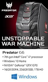 Acer Predator G6-710-70003 Gaming Computer