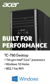 Acer Aspire TC-780 Desktops