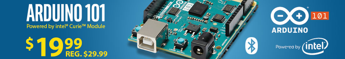 The New Arduino 101 - Available Now!
