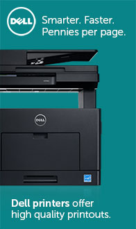 Smarter.Faster. Pennies per page. Dell Printers.
