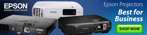 Bigger, Better Widescreen Projection. EPSON Projectors.