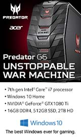 Acer Predator G6. Unstoppable War Machine.
