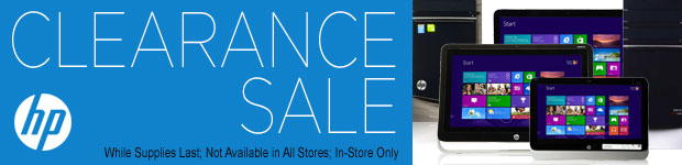 HP Clearance Sale!