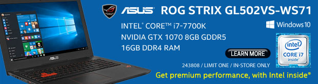 ASUS ROG Strix GL502VS-WS71 15.6