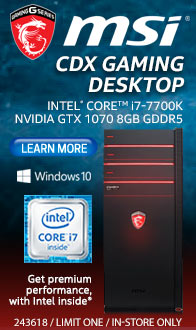 MSI Codex X3-013US Gaming PC