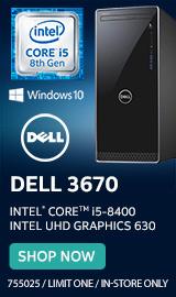 Dell Inspiron 3670 Desktop Computer