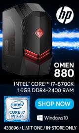 HP OMEN 880-130 Desktop Computer