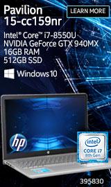 """HP Pavilion 15-cc159nr 15.6"""" Laptop Computer"""