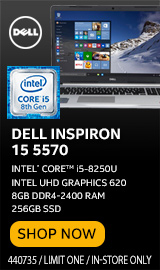 "Dell Inspiron 15 5570 15.6"" Laptop Computer"