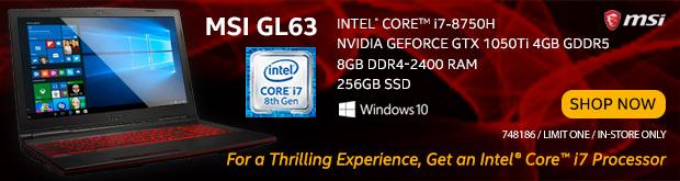 MSI GL63 15.6