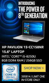 "HP Pavilion 15-cc158nr 15.6"" Laptop"