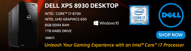 Dell XPS 8930 Desktop Computer
