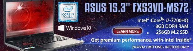 ASUS FX53VD-MS72 15.6