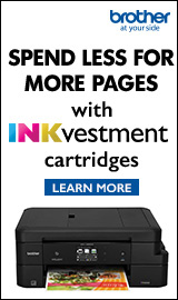 Spend less for more pages. Brother Printers.