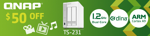 QNAP TS-231 Turbo Network Attached Storage
