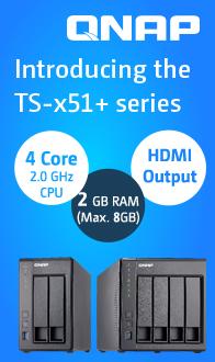 QNAP TS-x51+ Series NAS
