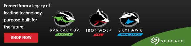 IronWolf for an Agile NAS. Seagate