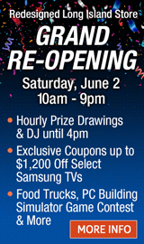 Long Island Grand Re-Opening!