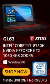 """MSI GL63 15.6"""" Gaming Laptop Computer"""