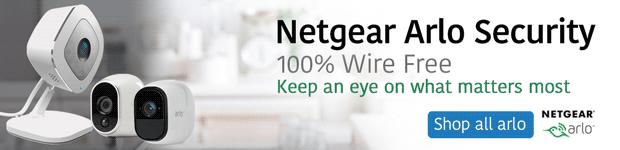 Netgear Arlo. 100% Wire Free.