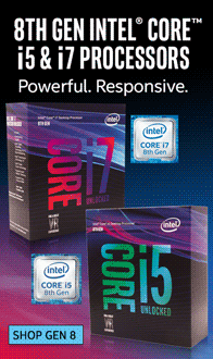 Intel Gen 8 CPUs