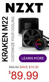 NZXT Kraken M22 RGB Water Cooling Kit