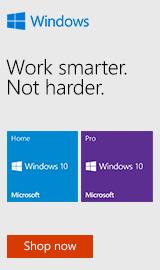 Microsoft Windows 10 Home & Pro.