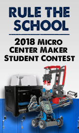 2018 2nd Annual Micro Center Maker Student Contest