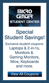 Micro Center Student Coupon Center