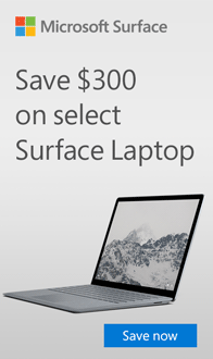 Save $300 on Microsoft Surface Laptop
