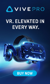 Vive Pro VR. Elevated in every way.