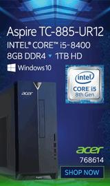 Acer Aspire TC-885-UR12 Desktop Computer