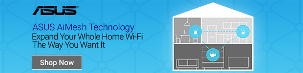 ASUS AiMesh Technology. Expand your whole home WIFI the way you want it.