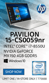 "HP Pavilion 15-cs0059nr 15.6"" Laptop Computer"