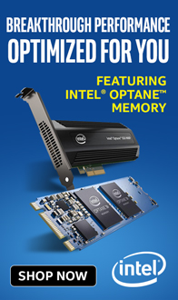 Breakthrough Performance Optimized for You. Intel Optane